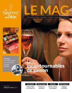 Magazine SAVEURS DE L'AIN n°2, décembre 2019